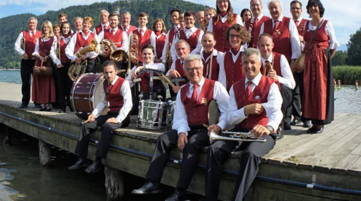 Die Musiker der EMV Stadtkapelle Villach und ihre musikalischen Gäste freuen sich auf einen gut besuchten Konzertabend in Villach.