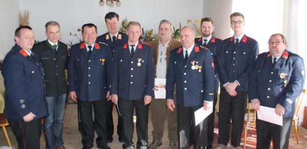 Jahreshauptversammlung FF Köstenberg 2018
