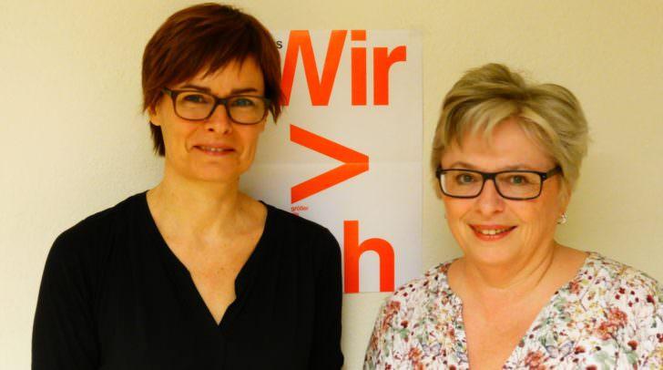 Janette Suntinger-Schneeweiß (links) und Ruth Holzer