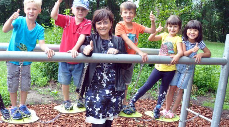 Kindergartenreferentin Vizebürgermeisterin Petra Oberrauner liegt das Wohl unserer Kinder sehr am Herzen.