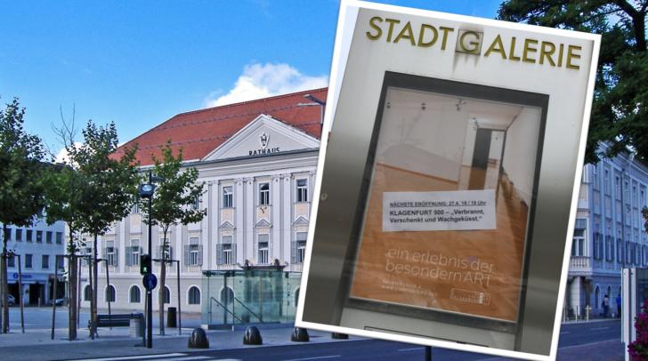"""""""Zur Ausstellung gibt es keine Plakate"""", bedauert Gemeinderätin Evelyn Schmid-Tarmann."""
