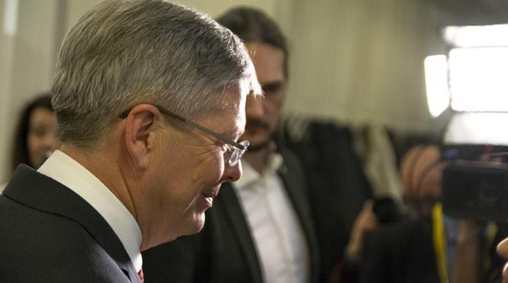 Landeshauptmann Peter Kaiser ruft heute zum Engangement für die Demokratie auf.