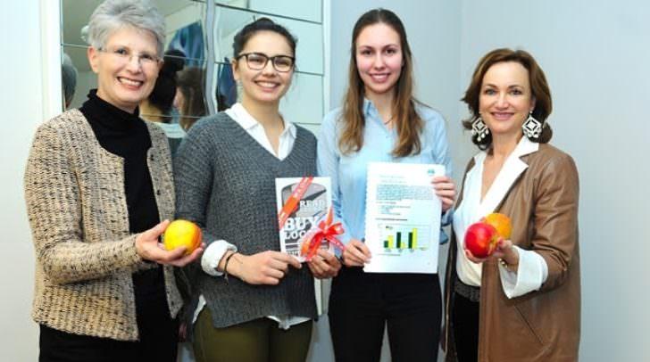 Hannelore Frühwirth, Ana Pranjic, Laura Matitz und Sylvia Gstättner