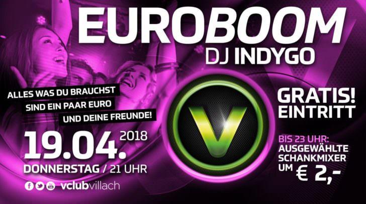 Was dürft ihr nicht verpassen? Euroboom am Donnerstag!