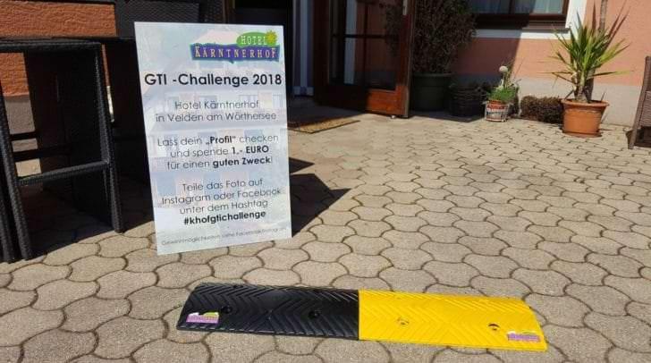 Bei der GTI-Challenge 2018 werden tolle Gewinne verlost und Spenden für den guten Zweck gesammelt.