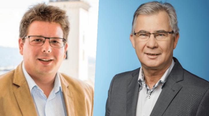 Christian Pober (ÖVP) wirft dem zuständigen Referenten Harald Sobe (SPÖ) vor, jahrelang nichts gegen die desolaten Zustände der Judendorferstraße getan zu haben.