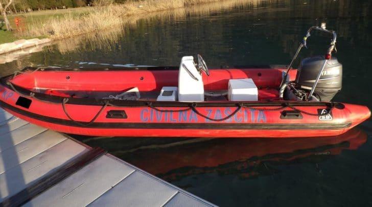 Mit diesem Boot passierte das Unglück.