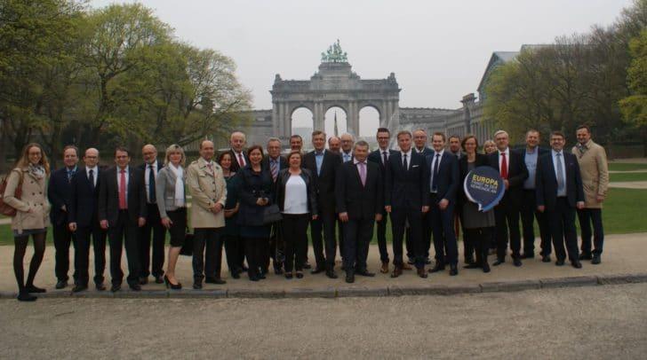 25 Europa-GemeinderätInnen reisten letzte Woche nach Brüssel - mit dabei die Villacher Gemeinderätin Christine Mirnig