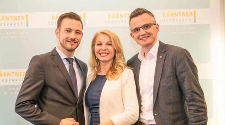 Landesparteisekretär ist Sebastian Schuschnig, als Landesgeschäftsführerin wird Julia Schaar an den Start gehen und Clubdirektor bei der Kärntner Volkspartei wird Josef Anichhofer