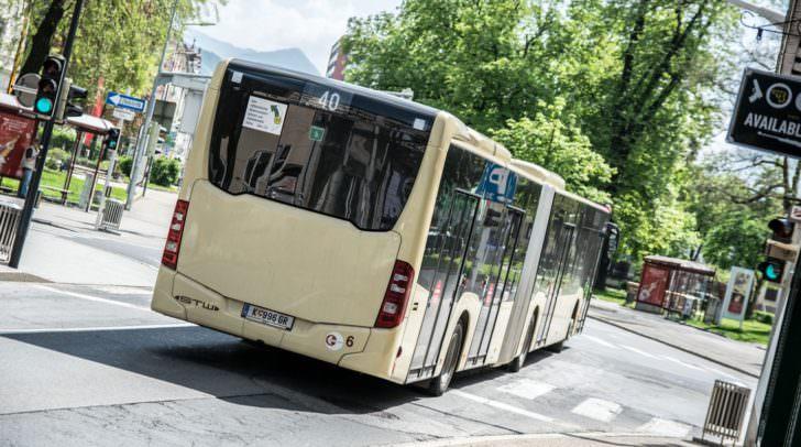Wegen der Straßensperren mussten einige Fahpläne der Klagenfurter STW-Buslinien vorgenommen werden.