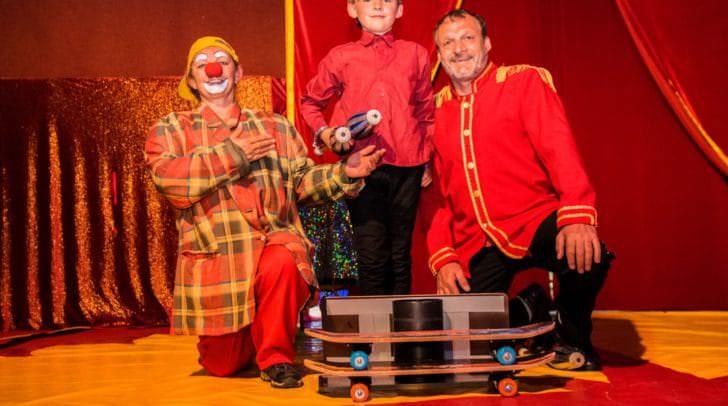 Die Zirkus-Familie Brumbach.