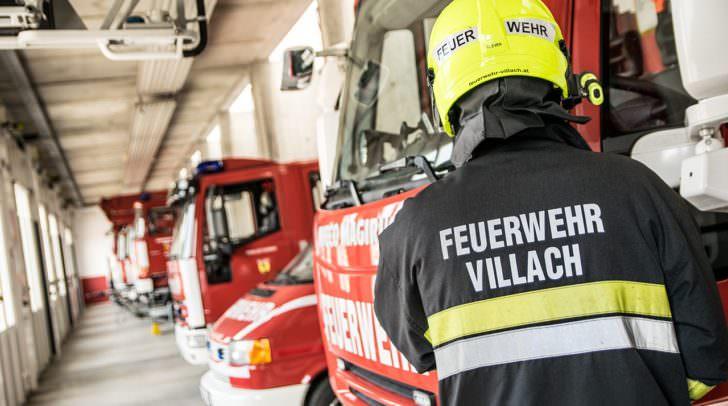 """Die Hauptfeuerwache Villach veranstaltet gemeinsam mit dem Zivilschutzverband den """"Sicherheitstag""""."""