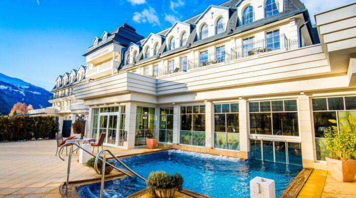1.300 garantierte Sonnenstunden erwarten dich im Grandhotel Lienz, dem Wellness Hotel in der Osttiroler Dolomitenstadt