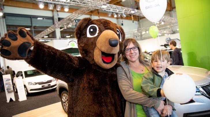 53,5 % der Besucherinnen und Besucher interessierten sich für den Bereich der Autos und Motorräder.