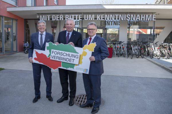 Pressekonferenz ´Joanneum Research – Starke Forschungsachse Süd wird weiter ausgebaut: mit LH Peter Kaiser, LH Hermann Schützenhöfer