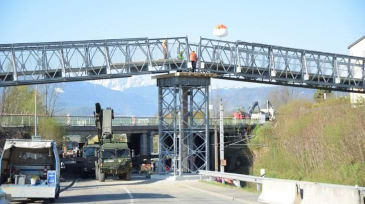 In Villach wird aktuell die Seebachbrücke saniert. Sie ist eine der 21 Güteklasse 4 Brücken in Villach und Klagenfurt.
