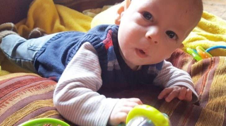 Das Villacher Baby Raphael braucht Hilfe, die ist jedoch teuer