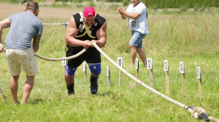 In Top-Form und voll motiviert trat Martin Hoi gegen seinen starken Konkurrenten in der Luft an.