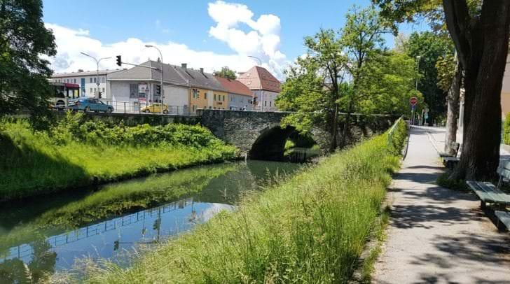 In der Nähe der Steinernen Brücke konnte der Tresor in der Lend gefunden werden.