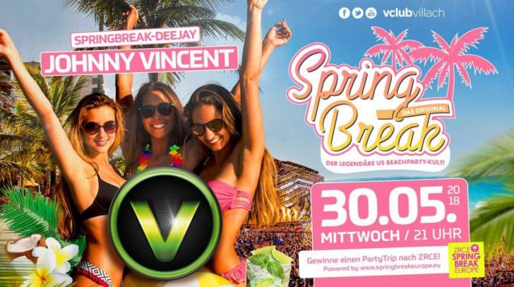 Der V-Club bringt den Spring Break nach Villach!