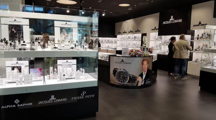 Am Donnerstag wurde der Jacques Lemans Store im Atrio eröffnet.