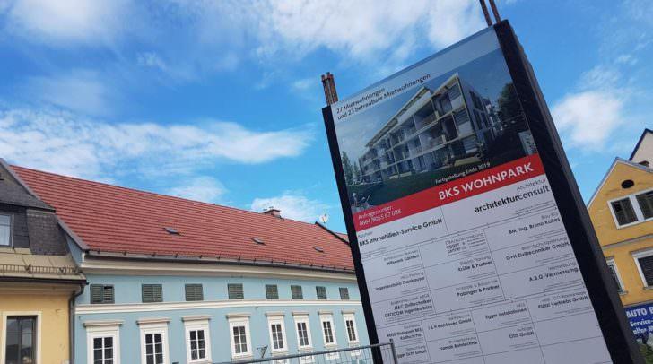 Baustelle BKS-Wohnpark