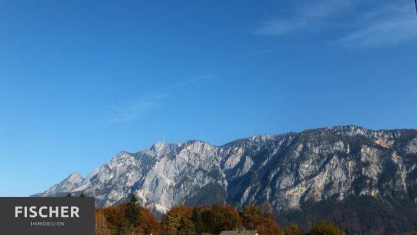 Der Ausblick auf die umliegenden Berge.