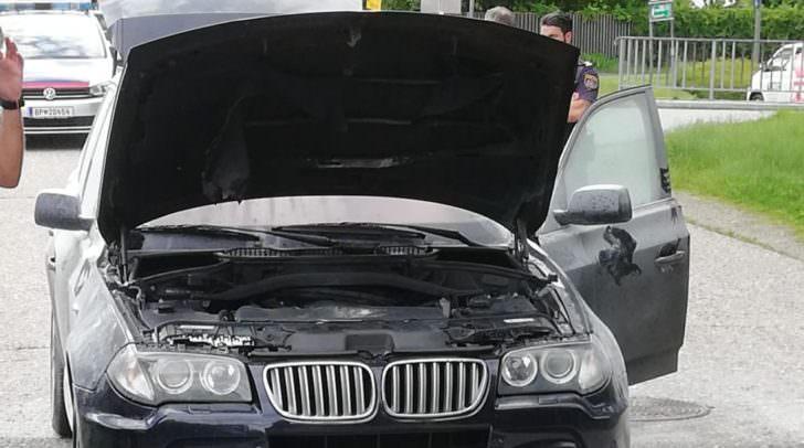 Am Auto entstand Totalschaden