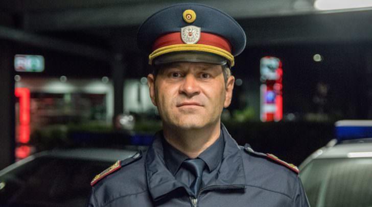 """Polizeisprecher Mario Nemetz gibt Entwarnung: """"Der Polizeihubschrauber ist dient vor allem der Überwachung des Verkehrsaufkommens."""""""