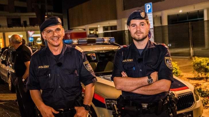 Zwei heimische Polizisten sind dieses Jahr in Lignano.