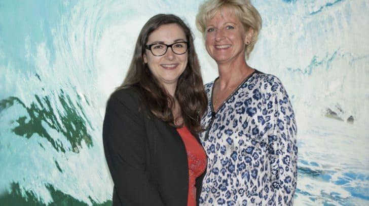Melanie Frierss von der Frierss Steuerberatungskanzlei Villach und Ingenieurin Brigitte Zöchling