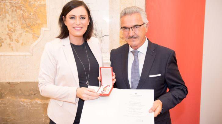 Auszeichnung Helmut Hinterleitner
