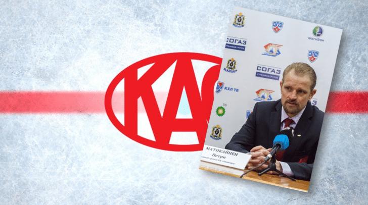 Der neue Cheftrainer Petri Matikainen