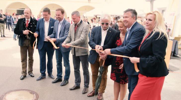 Der 7. Kunsthandwerksmarkt wurde gestern, Freitag dem 4. Mai 2018, feierlich eröffnet.