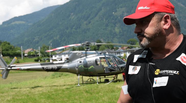 Hoi und sein Konkurrent der Hubschrauber.