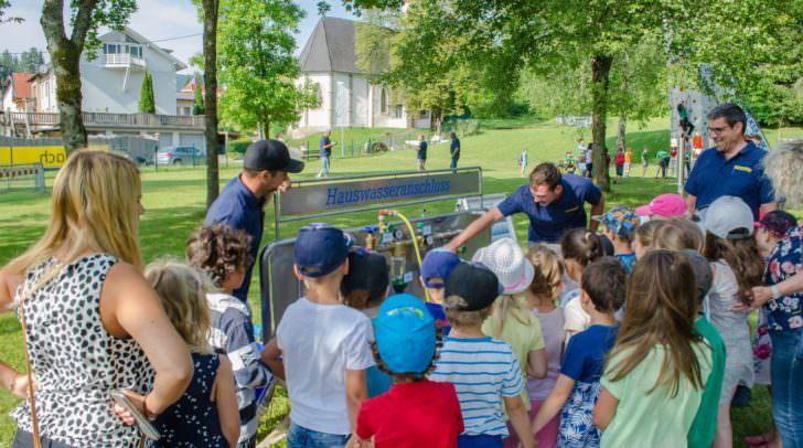 Auch für Kinder ist der Trinkwassertag bestens geeignet