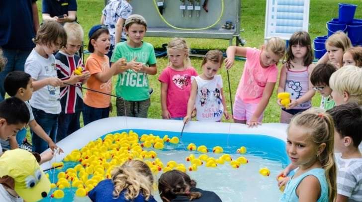 Auch heuer ist beim Trinkwassertag mit einem umfangreichen Rahmenprogramm wieder für Spaß und Spiel gesorgt.