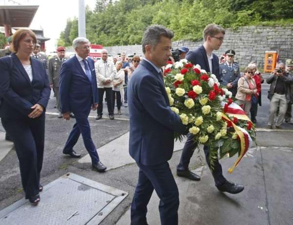 Gedenkfeier zur Befreiung des KZ Mauthausen vor 73 Jahren