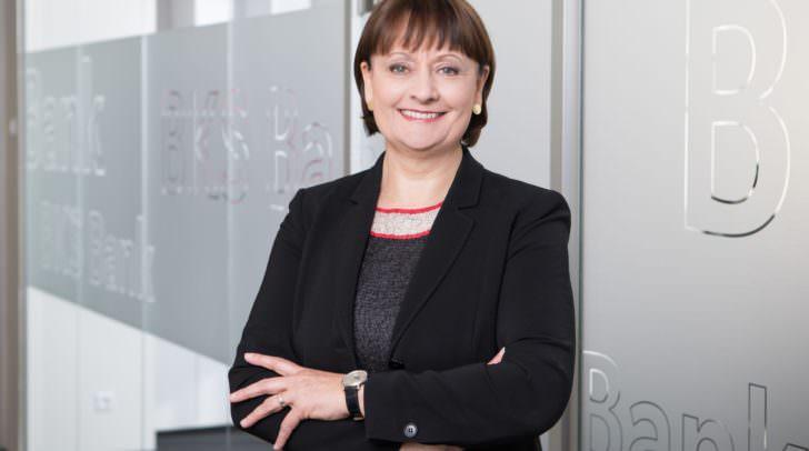 BKS Bank-Vorstandsvorsitzende Herta Stockbauer freut sich über erneute Aufnahme der BKS Bank in den VÖNIX