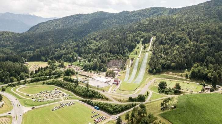 """Die Alpenarena in der Region Villach ist zukünftig die """"Homebase"""" für das chinesische Skisprung Damen-Team"""