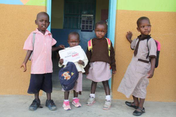 Schon mit der kleinsten Spende kann der Hunger der Kinder bekämpft werden.
