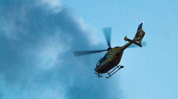 Nach Reanimationsmaßnahmen wurde die Verletzte vom Rettungshubschrauber in das Klinikum Klagenfurt gebracht.
