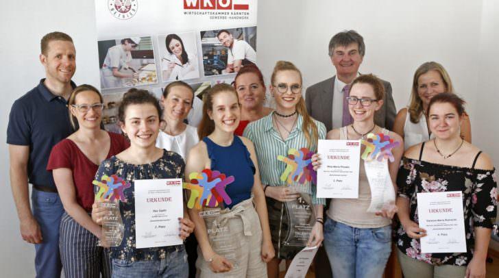 Das sind die Sieger des Landeslehrlingswettbewerbs der Damen- und Herrenkleidermacher