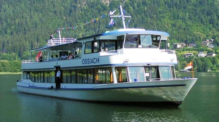 Einen schönen Tag auf Kärntens Gewässer genießen.