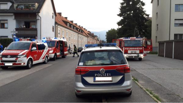 Neben der Polizei standen auch die FF Vassach, die HFW Villach und Rettungskräfte des Roten Kreuzes im Einsatz.