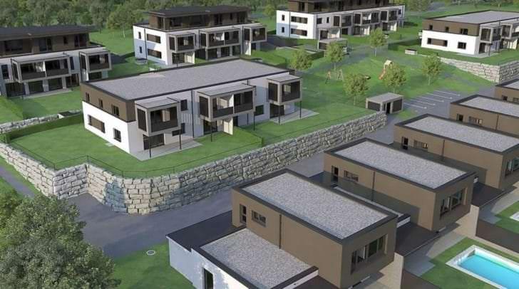 So sollen die neuen Wohnhäuser aussehen.