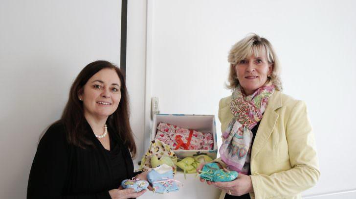 Frau Mag. Claudia Boyneburg-Lengsfeld-Spendier und Christine Mirnig führen die Aktion in Form von Nähnachmittagen weiter