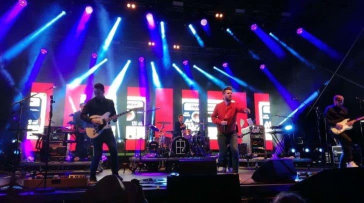 Die Band Revolverheld sorgte mit ihrem Auftritt für einen unvergesslichen Abschluss der Veranstaltung
