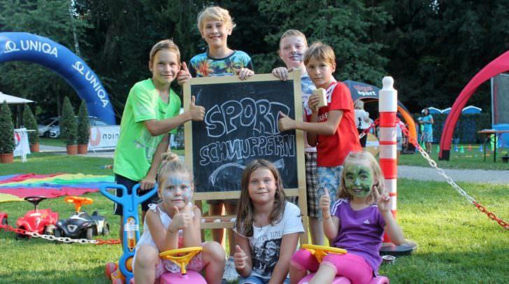 Spiel, Sport und Spaß stehen beim Sommersportschnuppern im Mittelpunkt