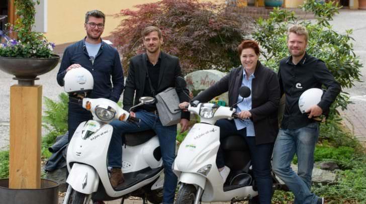 Mit der Idee, gebrauchte Elektroroller aufzumotzen, sind Alexander Elbe und Fabian Gutbrod zu den neuen Jungunternehmer von Villach geworden.